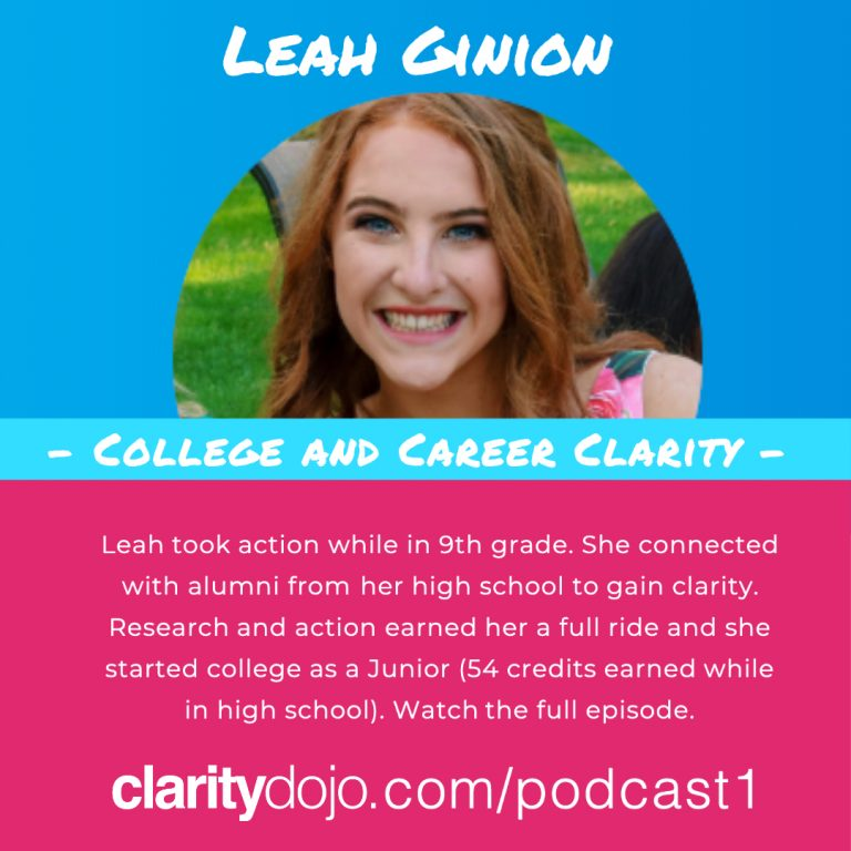 Podcast #1 – Leah Ginion: Clarity with Connection, Research and Action